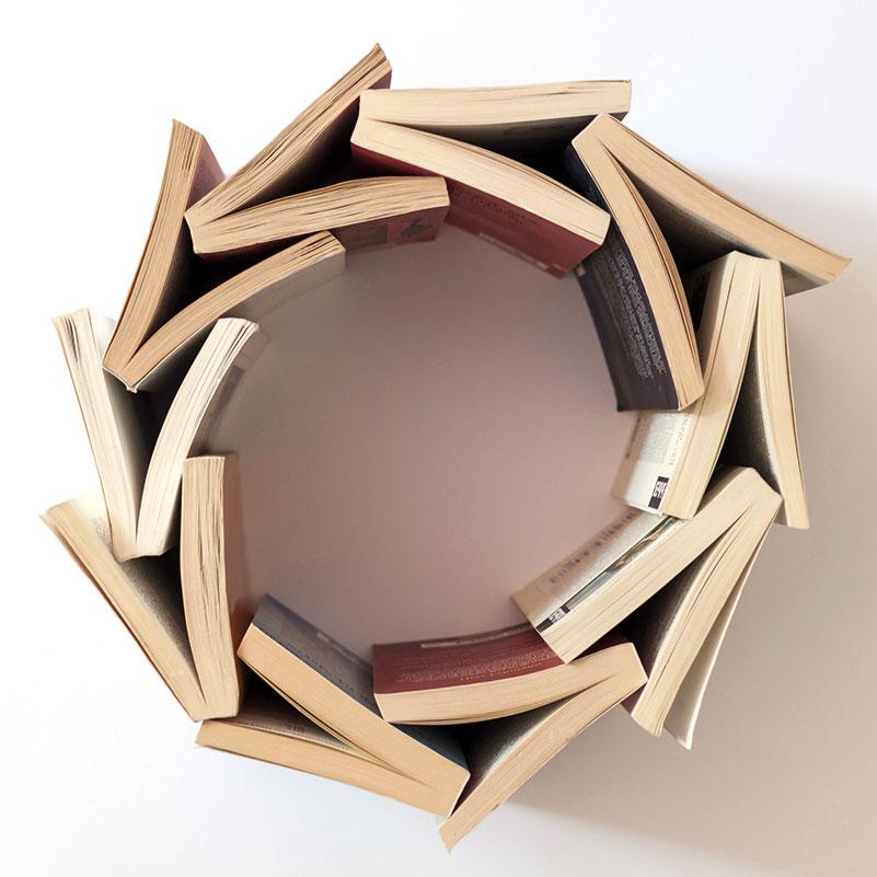 Böcker i cirkel